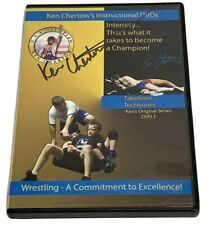 Ken Chertow's Wrestling Instructional DVD 1 Takedown Techniques Autographed HTF