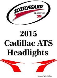 3M Scotchgard Paint Protection Film Clear Bra Pre-Cut Kits 2015 Cadillac ATS