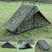 Original Dutch Army DPM Surplus Woodland Camouflage Pup tent British RAF DDPM Ii