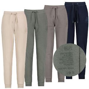 Sublevel Damen Basic Jogginghose Sweathose Mini-Print Organic Cotton Sweatpants