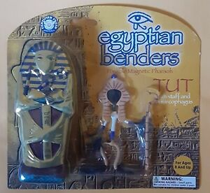 Tut - Egyptian Bender - Posable Magnetic Action Figure Toy + Tin
