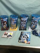 Lego Bionicle Barraki Lot - 8921 ,8919, 8917,8918 Extras