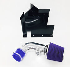 Blue For 2007-2011 BMW 128i 328i 3.0L 6cyl Heat Shield Cold Air Intake Kit