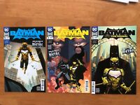 Batman and the Signal 1, 2, 3 Metal Tie In Batman Who Laughs DC Comics 2018 NM+