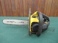 "Vintage McCULLOCH  MAC 140 Chainsaw Chain Saw with 12"" Bar"