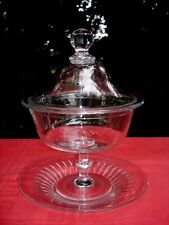 BACCARAT DRAGEOIR SUCRIER COUPE A PLAT CENTRE DE TABLE CRISTAL DESSERT APÉRITIF