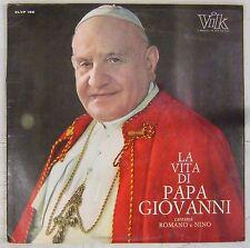 Jean XXIII 33 tours La vita di Papa Giovanni