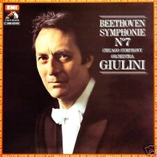 BEETHOVEN Symphonie N° 7 Carlo Maria Giulin FR Press LP