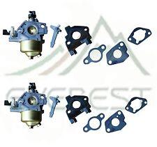 2 Pack Carburetor Fits GX270 9HP Honda Adjustable With Free Gaskets & Insulator