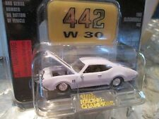 1969 oldsmobile 442 W-30  Racing Champions mint edition issue 68 w/stand  1:58