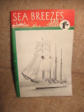 Sea Breezes ~ The Ship Lovers' Digest No 93 Vol 16 September 1953 ILLUSTRATED