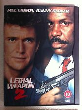 MEL GIBSON DANNY GLOVER PATSY KENSIT Lethal Weapon 2 1989 Secuela GB DVD