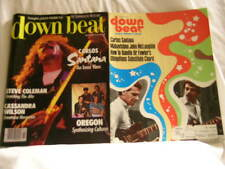 2 x DOWN BEAT magazines 1974/1988 CARLOS SANTANA John McLaughlin Steve Coleman