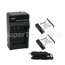 2 Battery + Charger For GoPro Hero HD HERO2 Outdoor Edition AHDBT-001 AHDBT001