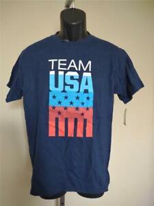 New Team USA Olympics Youth Size XL 18 Blue Shirt