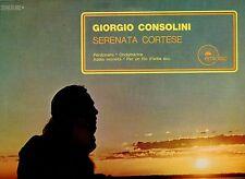 GIORGIO CONSOLINI disco LP 33 SERENATA CORTESE Made in ITALY serie EMIDISC 1970