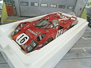 FERRARI 512M 512 M David Piper 24h Le Mans 1971 #16 Craft Weir CMR Resin 1:18