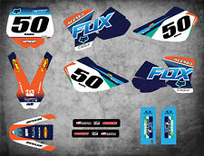 Custom Graphics Full Kit to Fit KTM 50 2002 - 2008 FOXY STYLE stickers