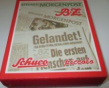 """Schuco piccolo 05215 Set """"Berliner Morgenpost"""" VW T1 / MB L319  NEU/OVP"""