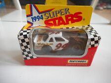 Matchbox 1994 Super Stars Car in White/Black in Box
