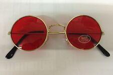 John Lennon Style Red Sunglasses Woody Harrelson Natural Born Killers Glasses