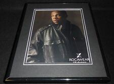 Jay Z 2010 Rocawear 10th Anniversary Framed 11x14 ORIGINAL Vintage Advertisement