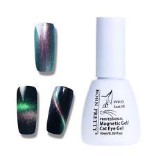 10ml Holographic Chameleon Cat Eye UV Gel Nail Polish Black Base Needed BP-03