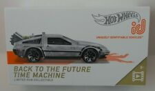 New ListingHot Wheels Id Series Back To The Future DeLorean Time Machine