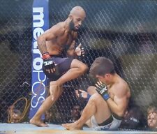 DEMETRIOUS JOHNSON SIGNED PHOTO 8X10 COA autograph UFC autographed Photo 5
