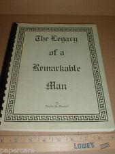Dr Otto Hammel St. Petersburg Florida FL Biography Scientist History rare book