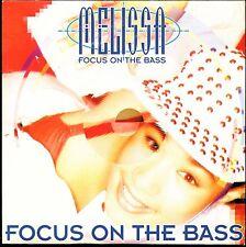 MELISSA - FOCUS ON THE BASS - CARDBOARD SLEEVE CD MAXI