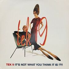 Tek 9 - It's Not What You Think It Is !?!! (2LP, 1996, SSR)