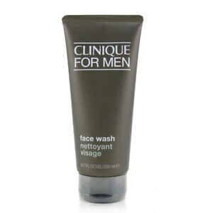 NEW Clinique Men Face Wash (For Normal to Dry Skin) 6.7oz Mens Men's Skincare