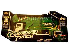 "NKOK 80962 13"" R/C RADIO REMOTE CONTROL CAR GARBAGE TRUCK GREEN"