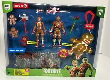 Fortnite GINGERBREAD SET Ginger Gunner Merry Marauder Figure Plush Christmas