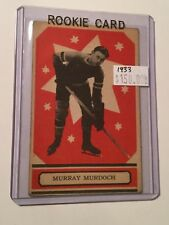 1933 opc hockey rookie card of Murray Murdoch