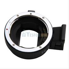 Commlite AF Mount Adapter EF-NEX For Canon EOS Lens to Sony+ IS Exact Exposure