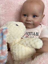 "Reborn Baby Doll Maddie By Bonnie Brown  24"" Tall"