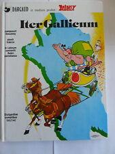1x COMIC-ASTERIX-iter Gallicum con supplemento (volume 5) (Alfabeto latino)