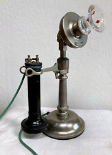 Western Electric #10 Candlestick Telephone with Long-Pole Receiver
