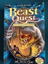 New Beast Quest - Ursus the Clawed Roar  by Adam Blade Paperback Book