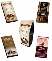 Alcohol Flavoured Chocolate Bars Truffles Novelty Christmas Gift