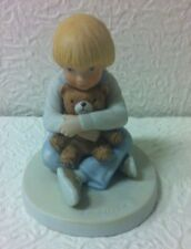 "Romans Francis Hook ""Bear Hug"" From A Child'S World 1981 Figurine Mint"