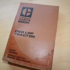CAT Caterpillar D6D Tractor Dozer Crawler Spare Parts Book Manual 33X series LPG