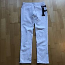 Abercrombie & Fitch, A&F, Jogginghose, Homewear, M 36 38, Weiß,