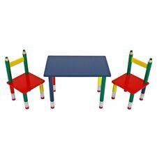 Kindertischgruppe Child Seat Kids' Furniture High Chair in Pencil Look