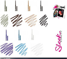SLEEK MAKEUP TWIST UP EYE /LIP LINER LAST LONG ORIGINAL ALL SHADES - UK SELLER!!