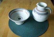 KMK Kupfermühle Keramik Schale Krug / Vase Cirrus top