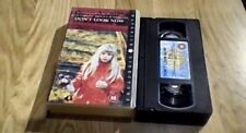 Don't Look Now UK PAL VHS VIDEO 1999 Donald Sutherland Julie Christie Horror