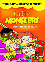 Little Monsters: Monsters at Home - DVD -  Very Good - Amber Barretto,Devin Ratr